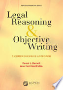 Legal Reasoning And Objective Writing
