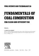 Fundamentals of Coal Combustion