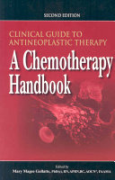 Clinical Guide to Antineoplastic Therapy Book