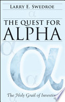 The Quest For Alpha Book PDF