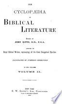 The Cyclopaedia Of Biblical Literature