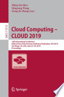 Cloud Computing     CLOUD 2019