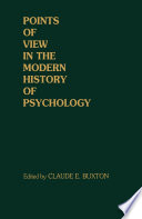 Points of View in the Modern History of Psychology