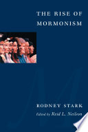 The Rise of Mormonism Book
