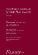 Rigorous Numerics in Dynamics