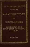The Farmers Review Farm Directory Of Mclean And Livingston Counties Illinois