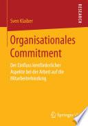 Organisationales Commitment
