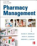 Pharmacy Management, Third Edition