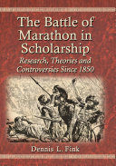 The Battle of Marathon in Scholarship Pdf/ePub eBook