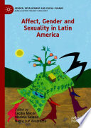Affect, Gender and Sexuality in Latin America