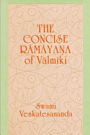 Concise Ramayana of Valmiki Pdf/ePub eBook