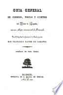 Guía General de Correos del Reino de España