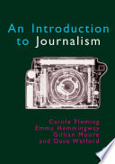 Introduction to Journalism by Carole Fleming PDF