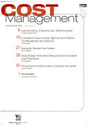 Journal of Cost Management Book