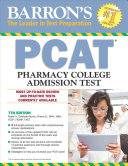 link to Barron's PCAT : pharmacy college admission test in the TCC library catalog