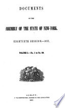 Documents of the Assembly of the State of New York Book