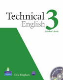 Technical English Level 3 Teacher S Book For Pack