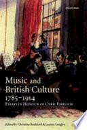 Music and British Culture, 1785-1914