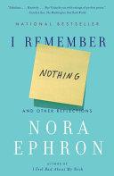 Pdf I Remember Nothing