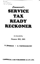 Commercial's Service Tax Ready Reckoner as Amended by Finance Bill, 2001