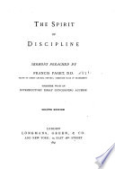 The Spirit of Discipline