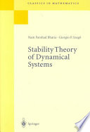 Stability Theory of Dynamical Systems