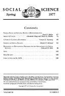 Social Sciences Book