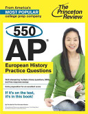 550 AP European History Practice Questions Book