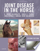 Joint Disease in the Horse Book