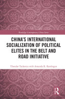 Pdf China's International Socialization of Political Elites in the Belt and Road Initiative Telecharger