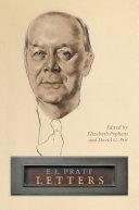 Pdf E.J. Pratt: Letters