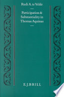 Participation and Substantiality in Thomas Aquinas