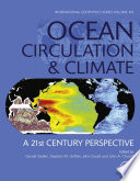 Ocean Circulation And Climate Book PDF