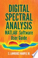 Digital Spectral Analysis Matlab Software User Guide