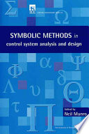 Symbolic Methods in Control System Analysis and Design Book
