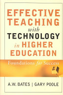 Effective Teaching with Technology in Higher Education Book