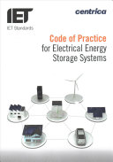 Code of Practice for Electrical Energy Storage Systems Book