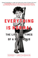 Everything is Normal Book