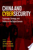 China and Cybersecurity Book