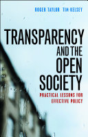 Transparency and the open society Pdf/ePub eBook