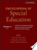 Encyclopedia of Special Education  Volume 2 Book