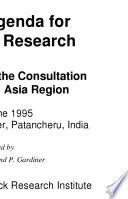 Global Agenda for Livestock Research
