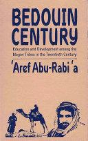 Bedouin Century Book