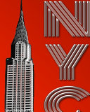 Iconic New York City Chrysler Building Creative Writing Drawing Journal