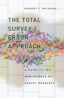 The Total Survey Error Approach