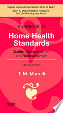 Handbook Of Home Health Standards E Book