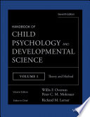 Handbook of Child Psychology and Developmental Science  Theory and Method Book