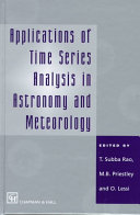 Applications of Time Series Analysis in Astronomy and Meteorology