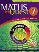 Cover of Maths Quest 7 for New South Wales