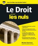 Pdf Le Droit pour les Nuls Telecharger